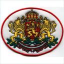 Embroidery Design Patch Photo: Bulgaria Coat of Arms Lions